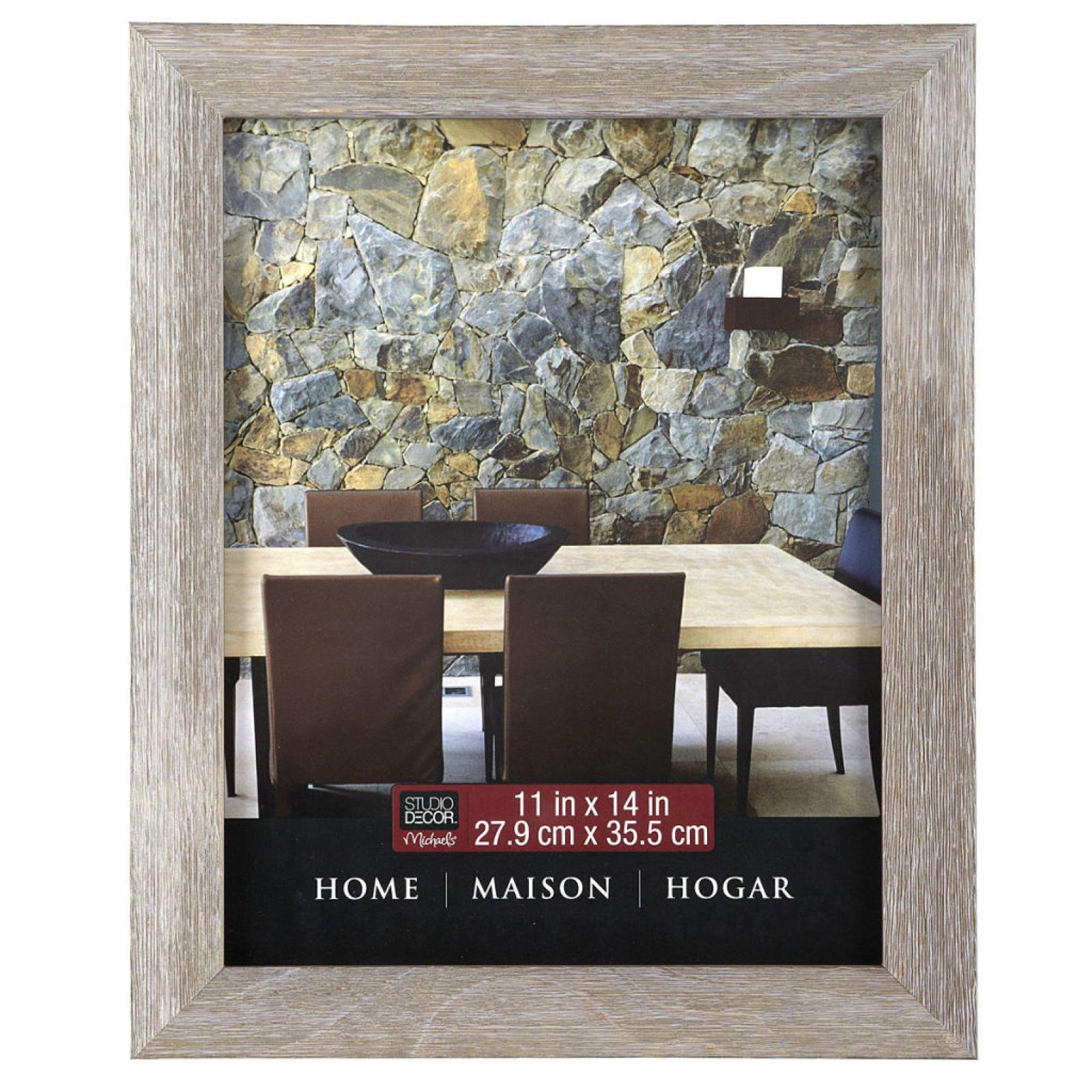 "Studio Décor® Home Collection Barnwood Frame, 11"" x 14"""