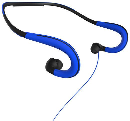 Sharper Image Blue Athletic Headphones Headphones Athletic And