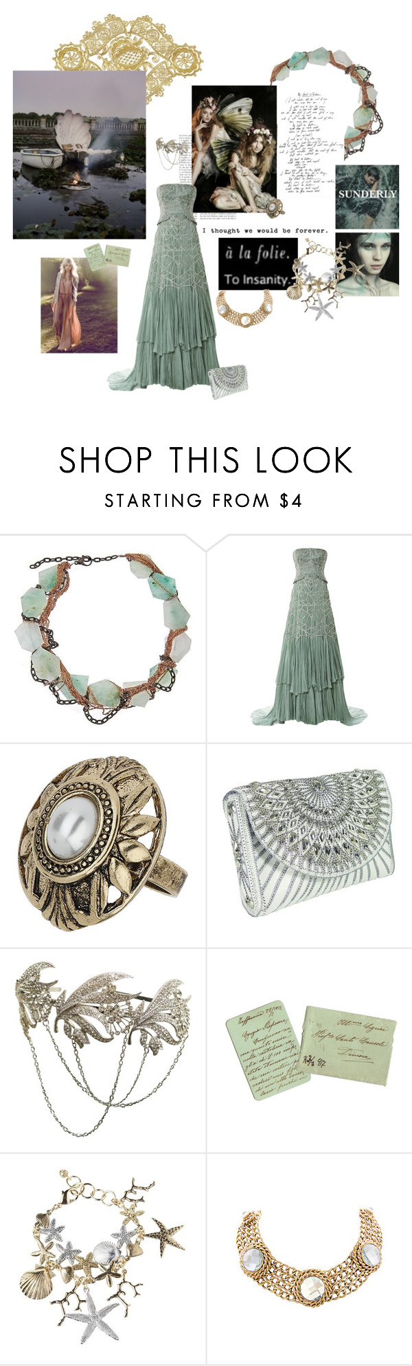 """House Sunderly"" by summersdream ❤ liked on Polyvore featuring Gemma Redux, Bibhu Mohapatra, Topshop, BUBA, Swarovski, GameOfThrones, ASongOfIceAndFire, asoiaf and Westeros"