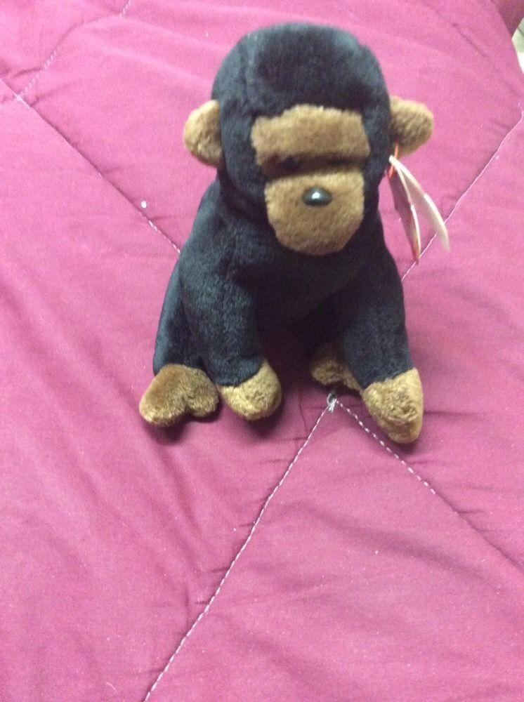 306973ecb45 TY Beanie Babies Congo The Gorilla 1996 Retired