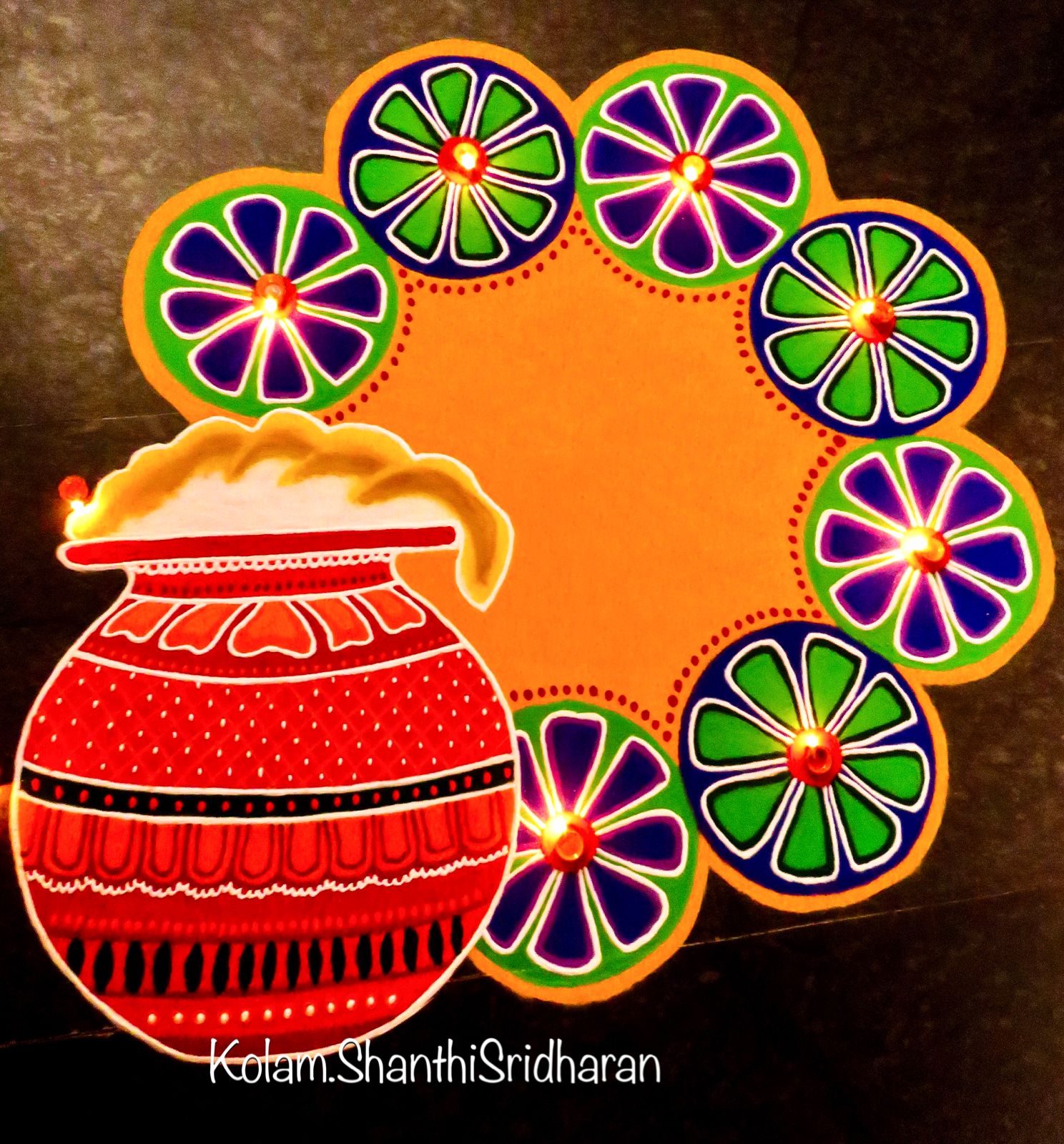 Find This Pin And More On Pongal Kolam By Shanthi0412