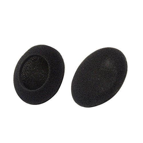 Leegoal(TM) Foam Earpad Ear Pad Cover For Earphone Headphone (Black50mm3 Pair)