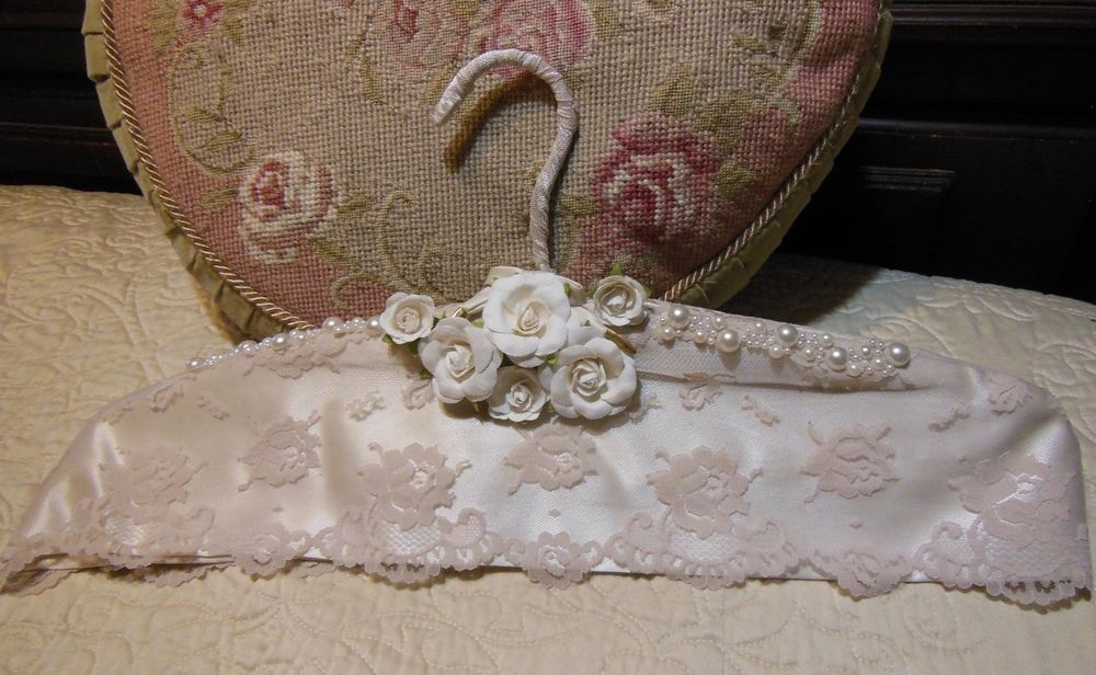 Custom Made, Wedding, Special Occasion, Vintage, Padded Silk Hanger, Prom