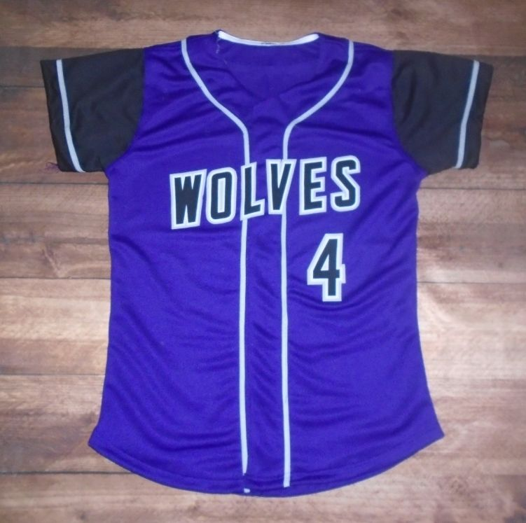 Wolves Softball custom jersey created at Sport & Cycle in