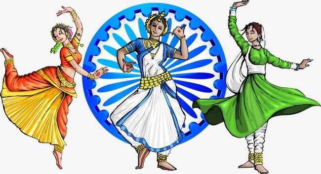 Indian Dance Vector Beautiful People Character Cartoon Characters Vector Character Png Transparent Clipart Image And Psd File For Free Download Independence Day Drawing Independence Day India Indian Classical Dancer