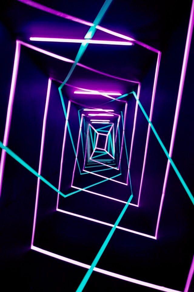 Neon Nights Desain Neon Desain Pencahayaan Wallpaper Neon