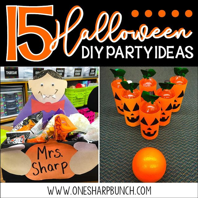 15 DIY Halloween Party Ideas for the Classroom DIY Halloween - halloween party ideas games