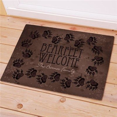 Cabin Welcome Doormat | Personalized Cabin Welcome Doormat