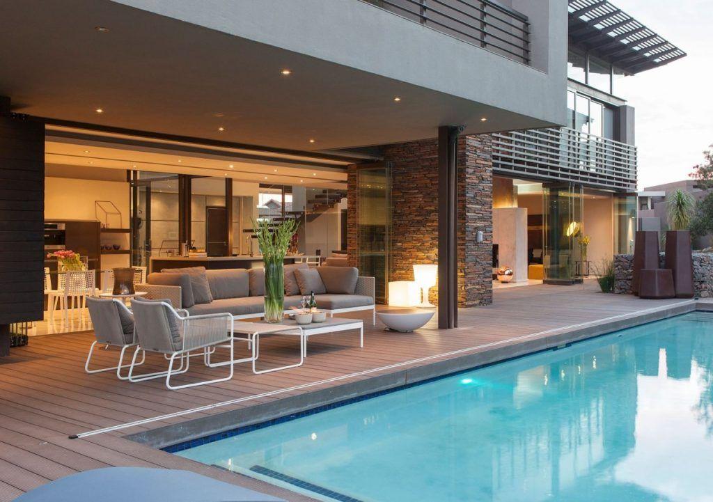 Desain Rumah Sederhana Plus Kolam Renang Desain Rumah Rumah Mewah Rumah Indah