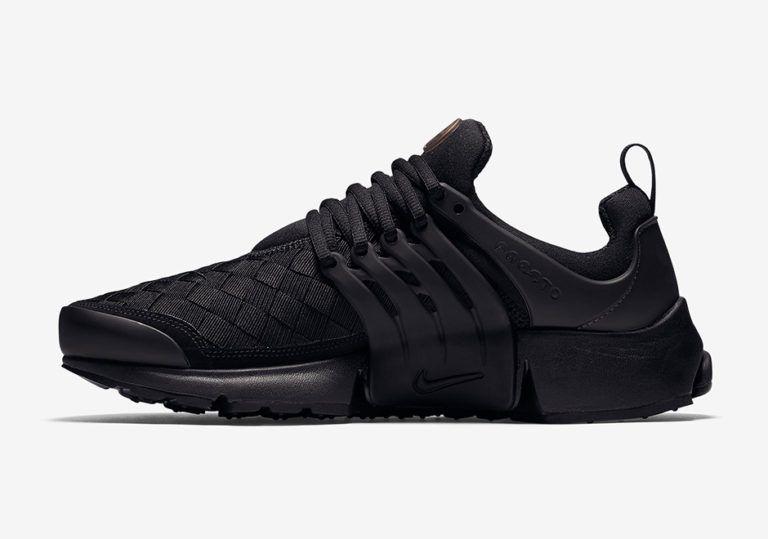 sneakers for cheap c1f61 2f12a ... ireland zalando nike air presto woven triple black 20c4e 37a9f ...