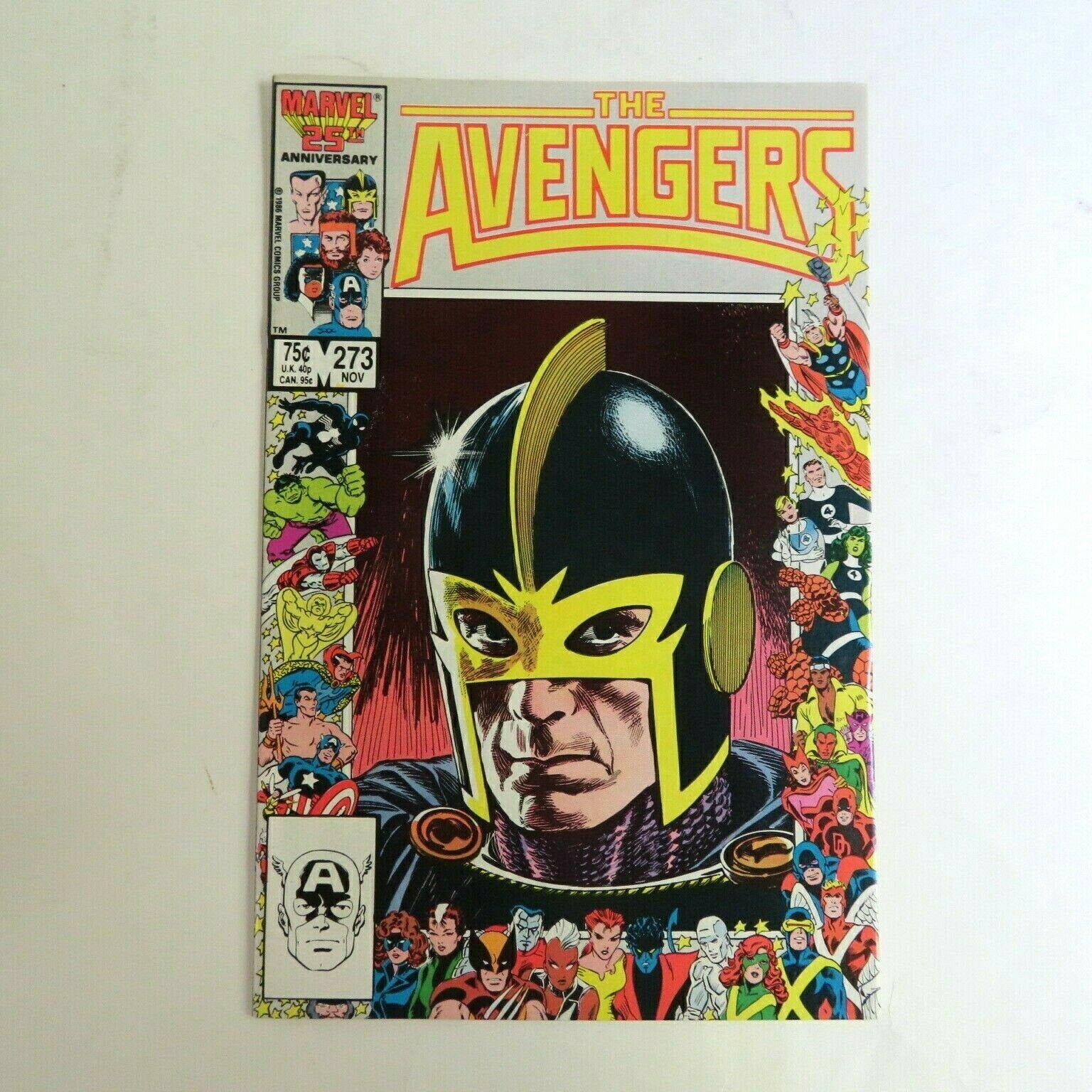 Avengers 273, (1986), 25th Anniversary Marvel Comics A2