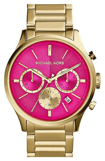 Michael Kors 'Bailey' Chronograph Bracelet Watch, 44mm available at #Nordstrom