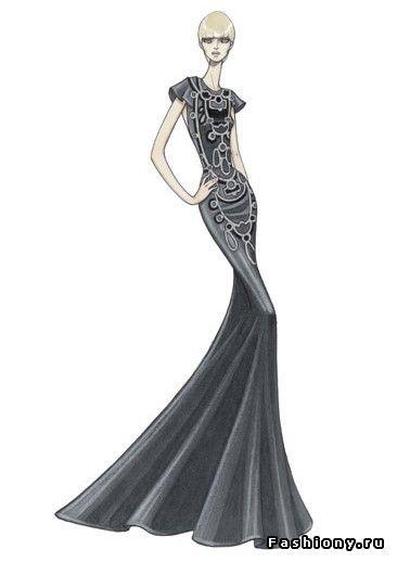 696e64a79dd красивые эскизы платьев - Кокетка. в 2019 г.
