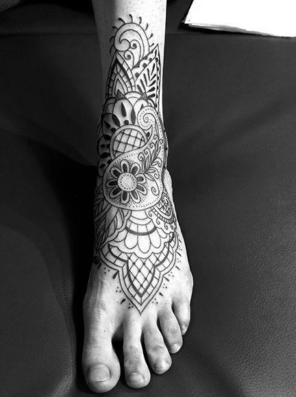 Httptattooesqueprnamental Flower Feet Tattoo Tattoos