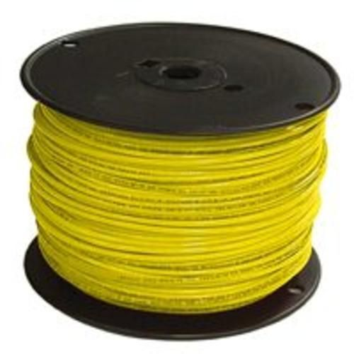 Southwire 12yel Solx500 Thhn Single Wire Yellow Electrical Wire Connectors Insulation Materials Wire