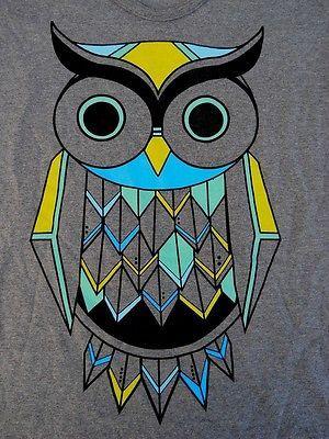 T-Shirt Owl Good Luck New Women Size L, or XL
