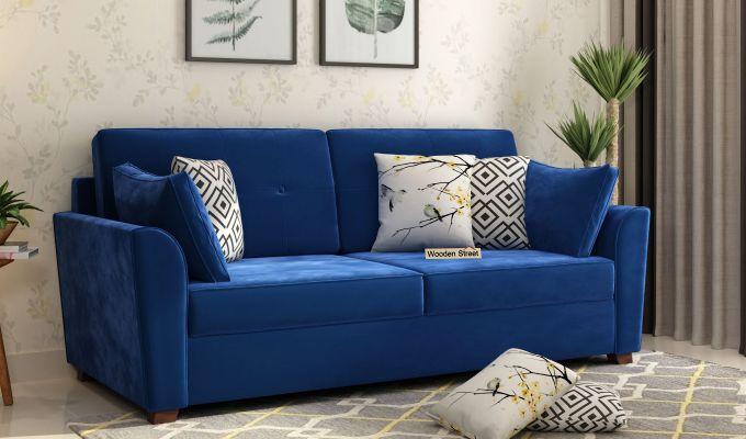 Buy Modern Velvet Sofas Online In India Woodenstreet In 2020 Velvet Sofa Modern Velvet Sofa Sofa