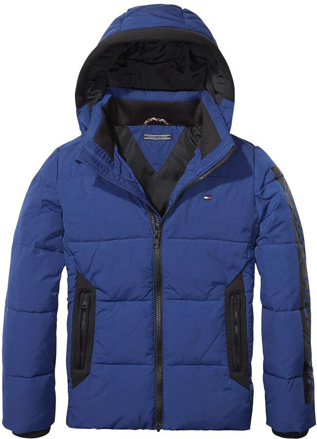 2ed449629 TH Kids Tommy Padded Jacket #boys#outerwear#Tommy | Little Girls ...
