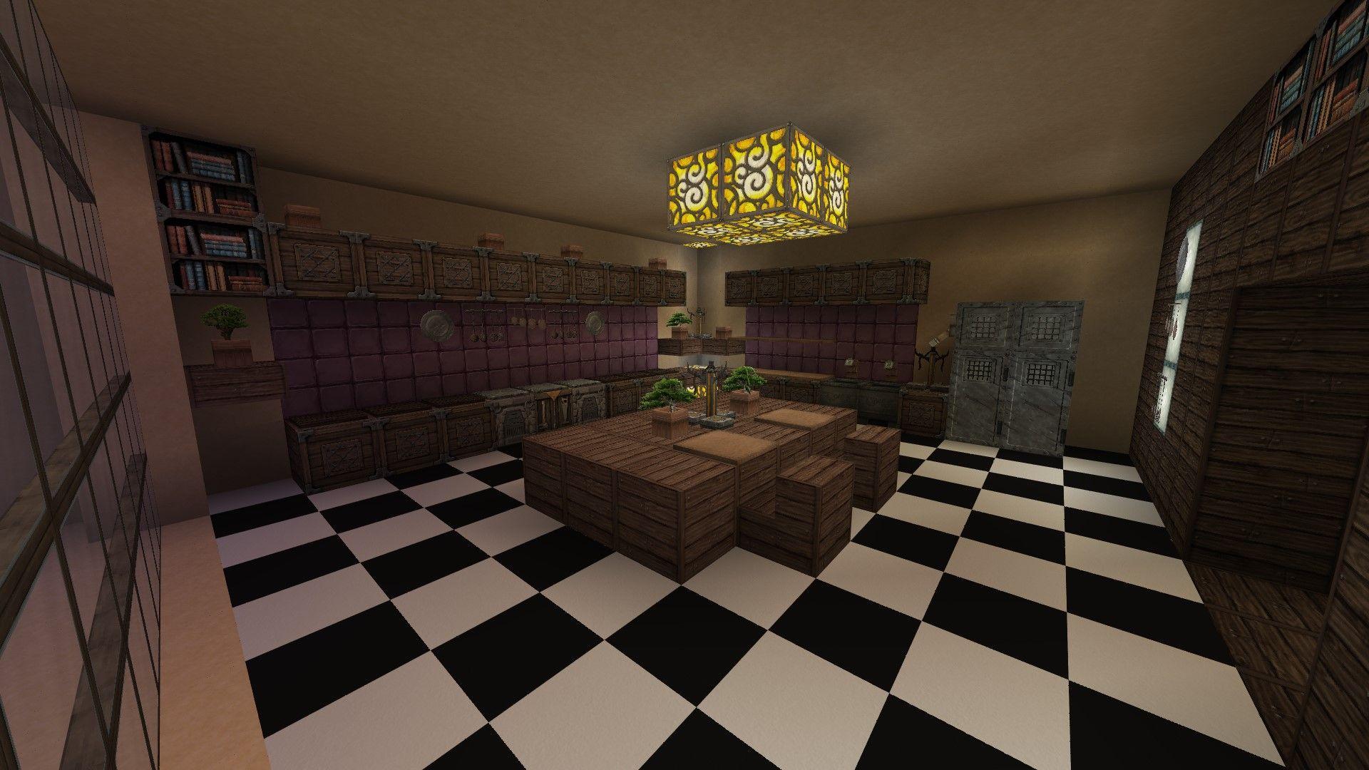 Minecraft Küche/ kitchen | Minecraft und Küche
