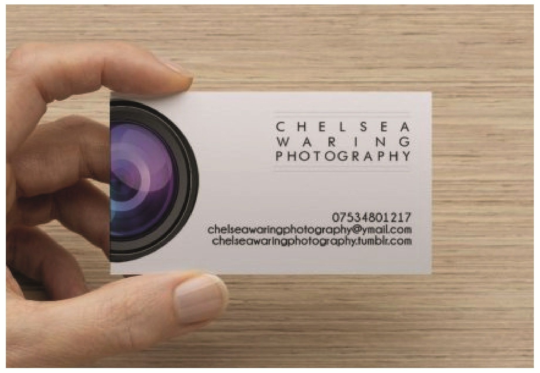 Chelsea Waring Photography – Business Cards | Photography business ...