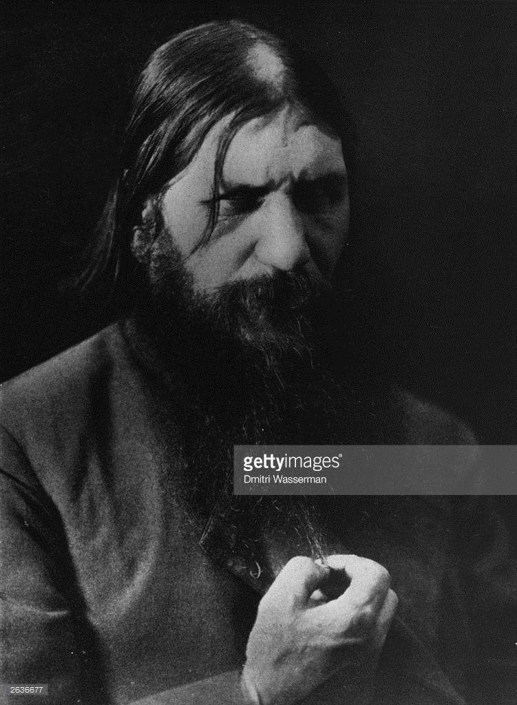 1900: Grigory Yefimovich Rasputin (1871 - 1916) Russian monk and courtesan who achieved a remarkable influence over the empress Alexandra and her husband Tsar Nicholas II. Original Publication: Aldus Disc - People & Personalities - 1353 - 008