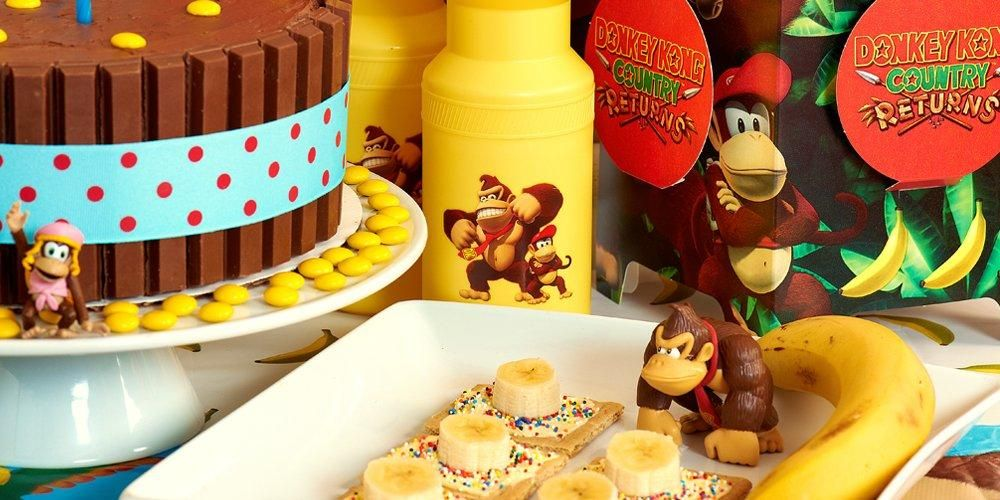 Discount Donkey Kong Birthday Supplies Decorations and Party