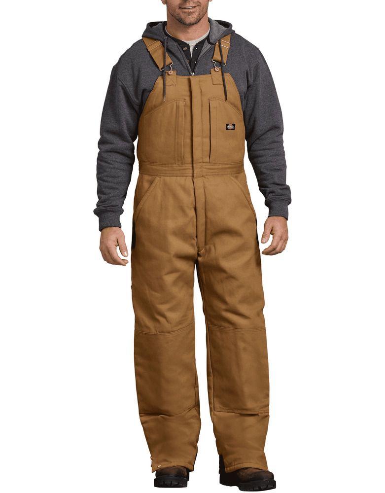 ebay sponsored dickies men s duck insulated bib overalls on insulated work overalls id=73603