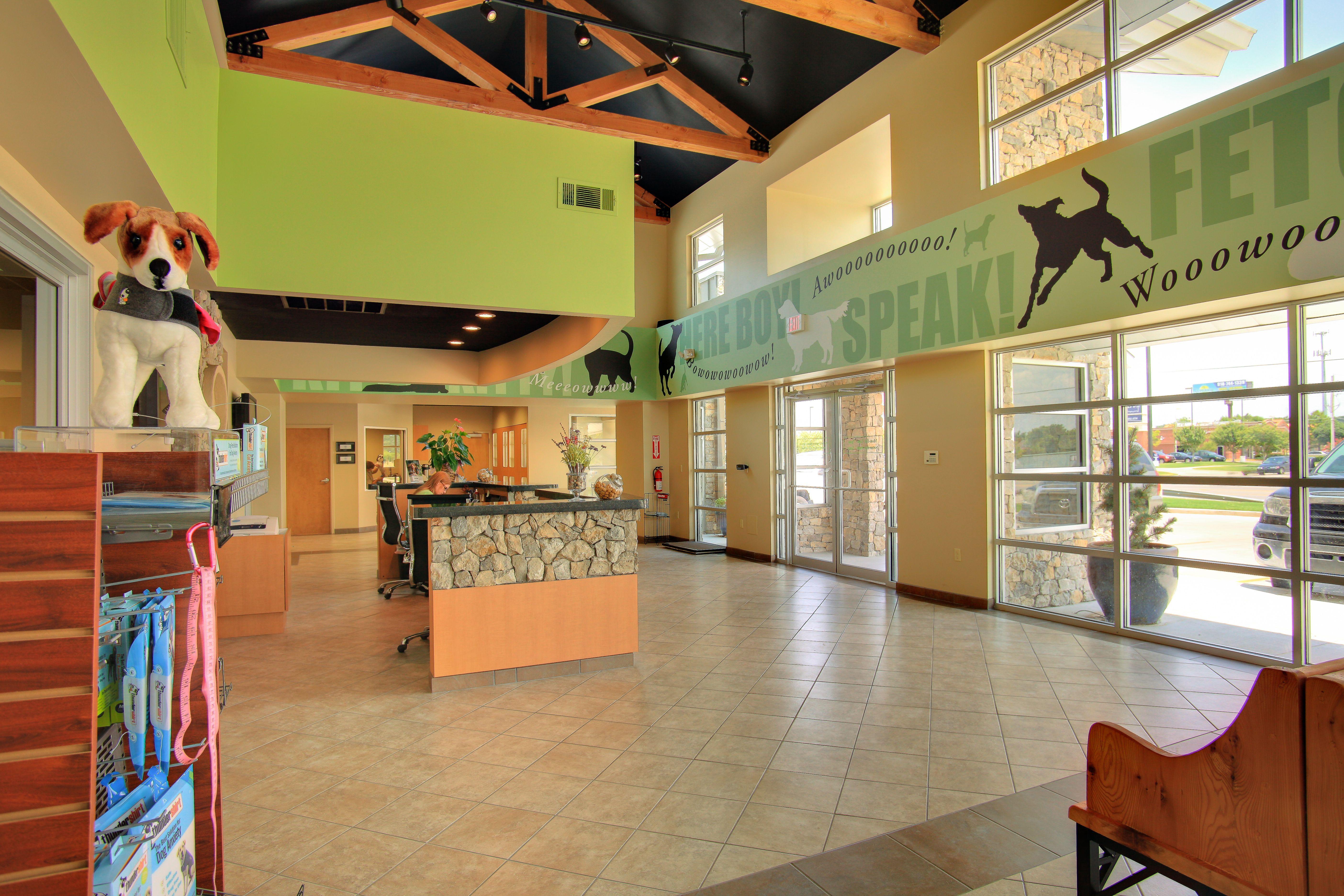 River Trail Animal Hospital Hospital design, Indoor dog