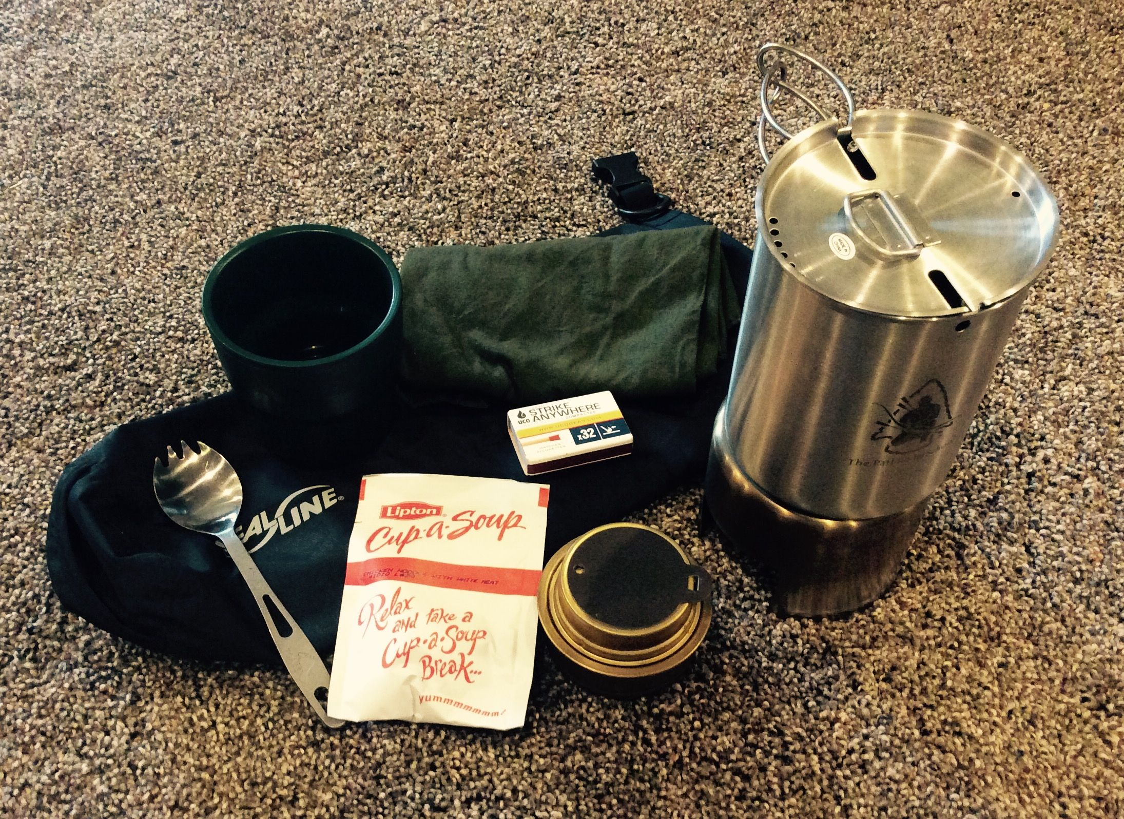 compact dry bag cook kit pathfinder gen 2 cup with lid bottle