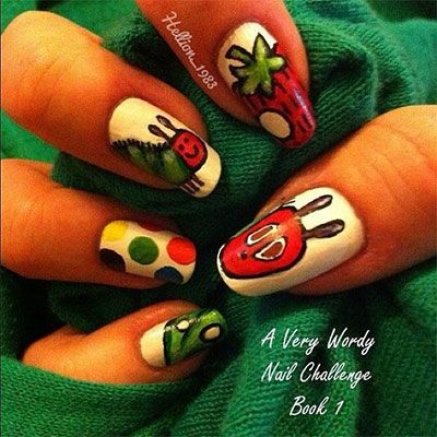 Easy Farm Animals Nail Art Designs Ideas 2013 2014 Fabulous