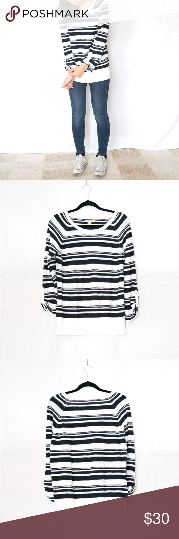 Like New striped pullover | Banana republic, Pullover and Bb