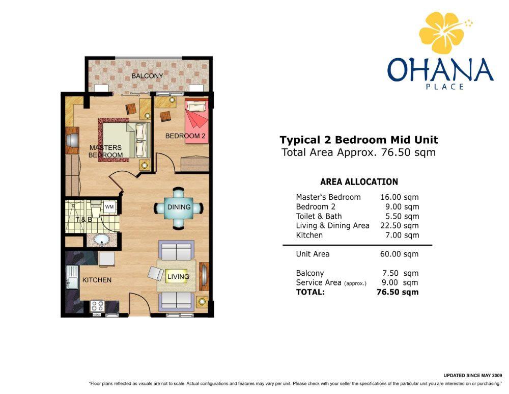 Condo Sale At Ohana Place Condominiums Floor Plans Floor Plans
