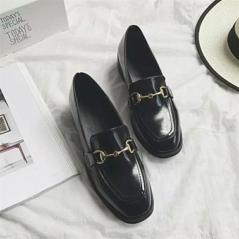bfe9027a8b0 Brand Patent leather Flats Women Oxford Shoes Lady Loafers flats 2017  Brogues women Flat Heel Shoes Women Casual Dress Shoes  Brownoxfordshoes