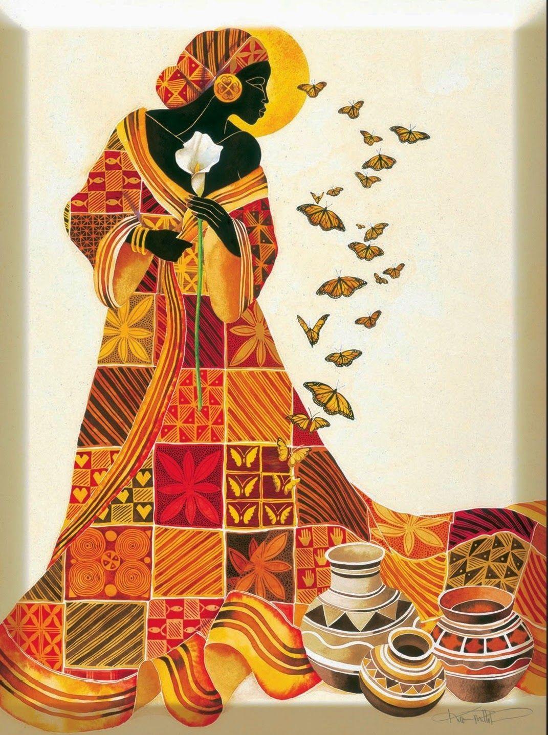 Cuadros modernos pinturas cuadros tnicos mujeres africanas for Nuevos colores de pinturas para casas