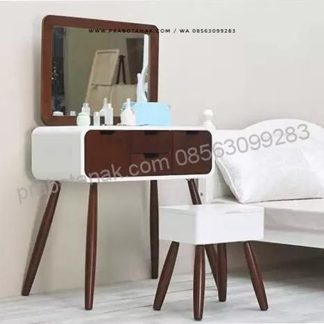 meja rias anak minimalis helga | meja rias, mebel, furniture