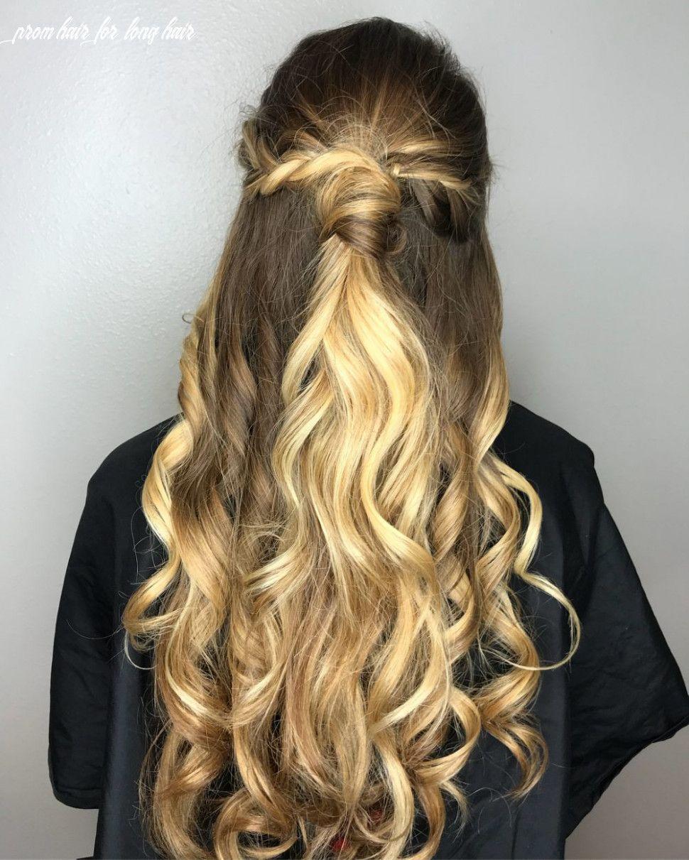 9 Prom Hair For Long Hair Di 2021 Rambut Panjang Rambut Keriting Gaya Rambut Medium