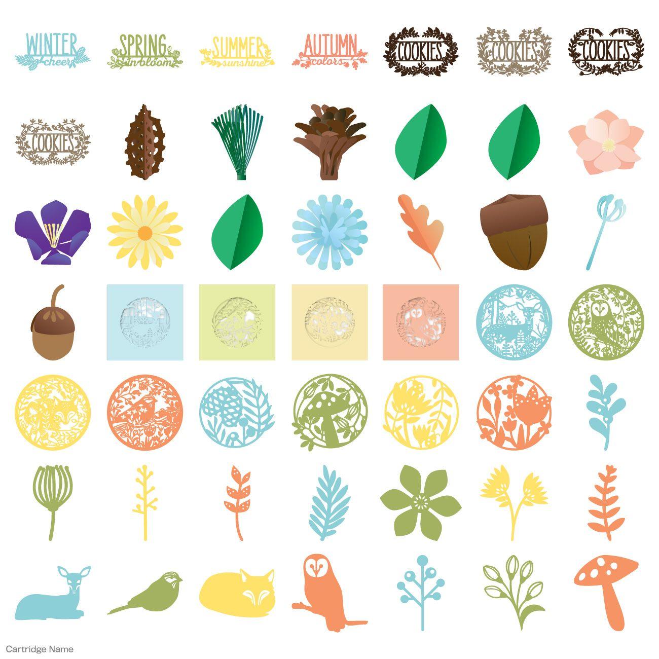 Etonnant Four Seasons Home Decor Cricut® Cartridge By Lia Griffith .