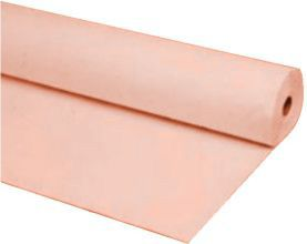 Plastic Table Cover 100 Foot Roll Peach