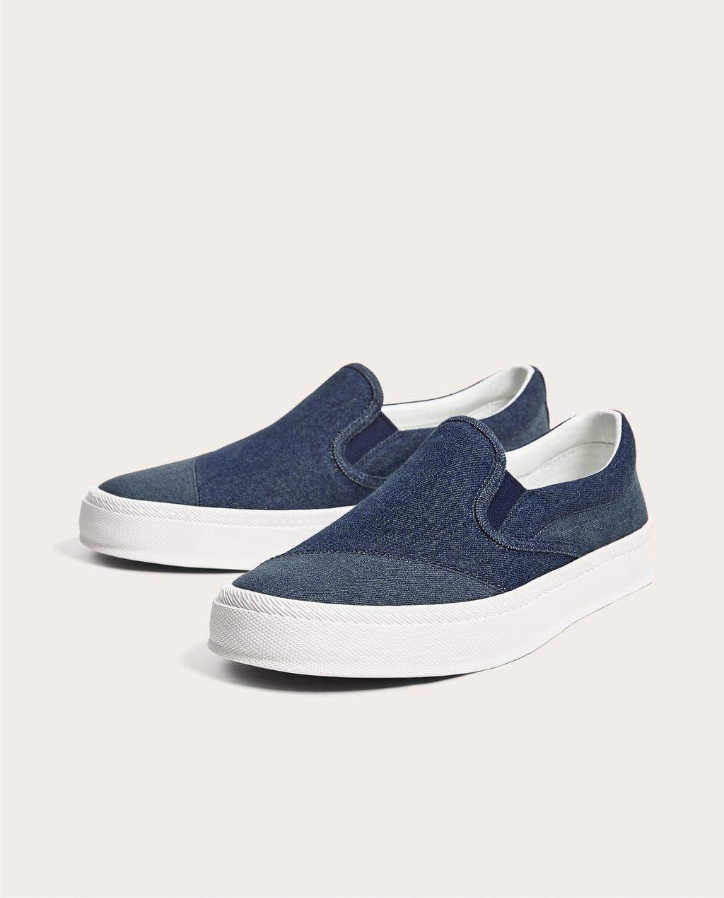 Deportivo Denim Ver Todo Zapatos Hombre Rebajas Zara Colombia Sneaker Kinder Schuhe Schuhe