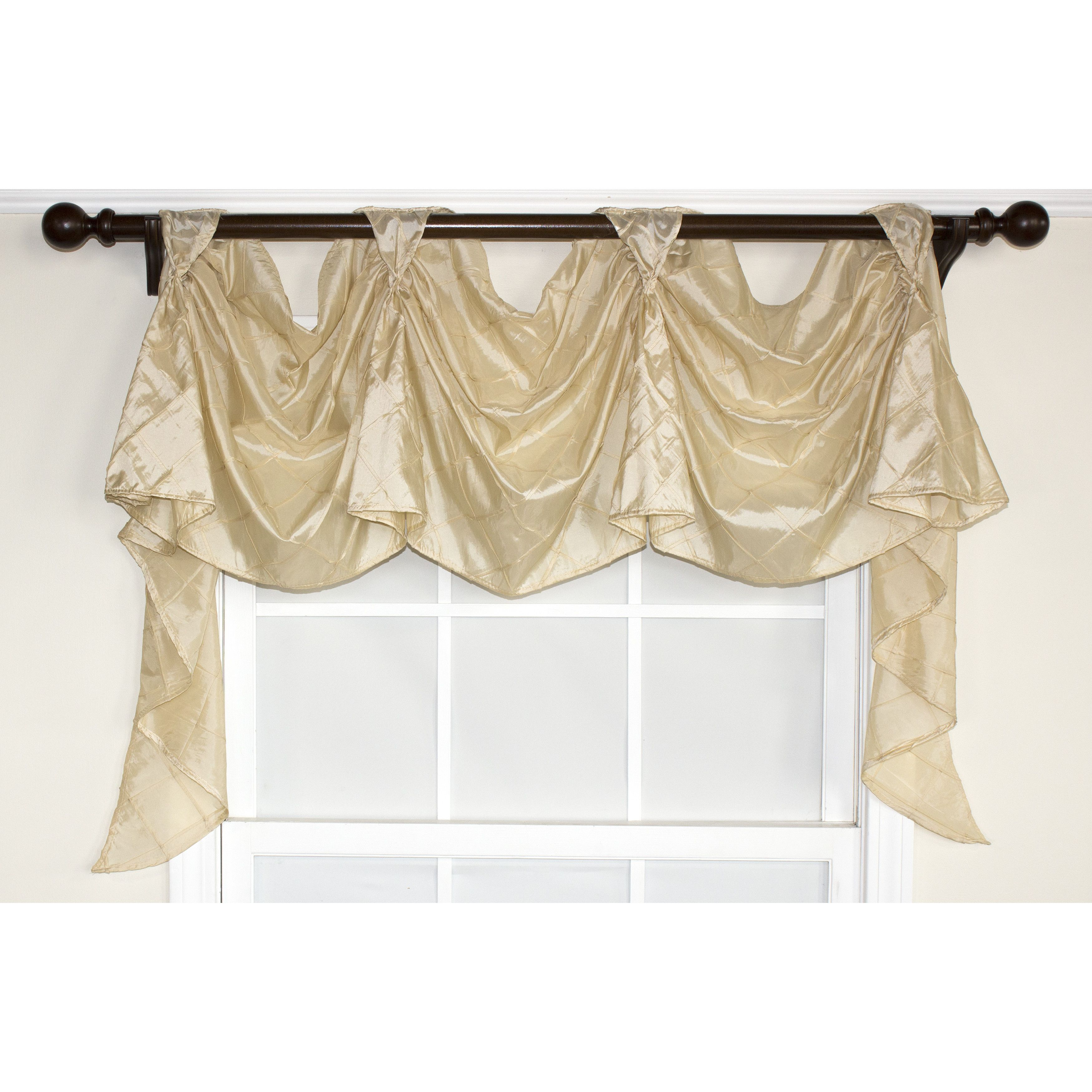 RLF Home Tucker Victory Swag Curtain Valance Reviews
