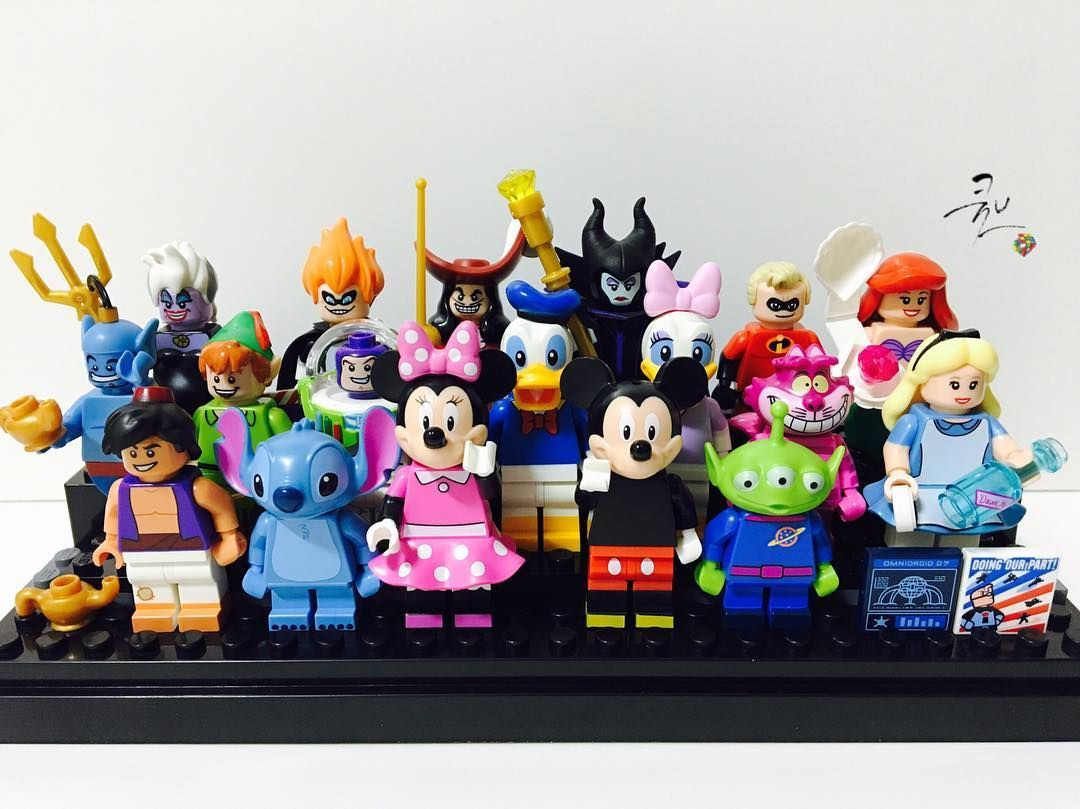. 디즈니 캐릭터가 색상 때문인지 이쁘긴 이쁘네  . #2016년 #5월22일 by ryan_cube
