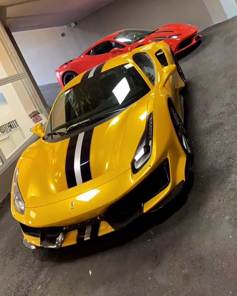 Ferrari 488 Pista On Instagram What A Yellow Just Added