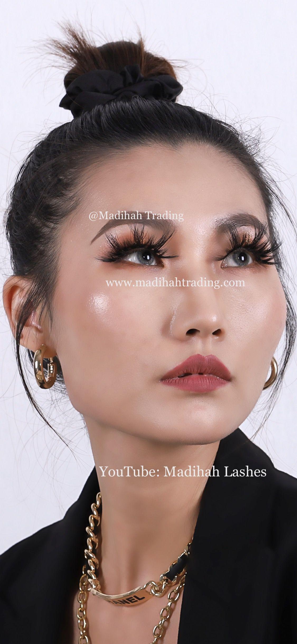 Dramatic 3d mink lashes wholesale lash vendors china