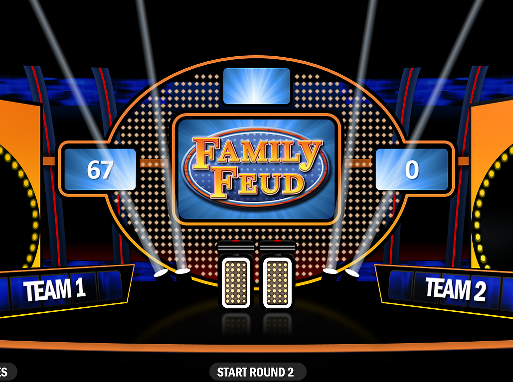Rusnak Creative PowerPoint Games Family feud game