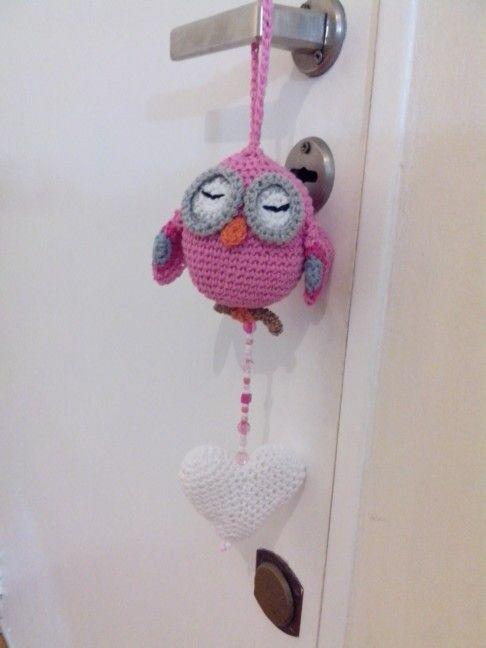 Búho / colgante para puerta | Amigorumi | Pinterest