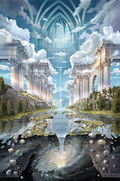 Genesis II Art Print by John Stephens