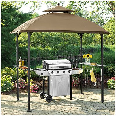 Wilson u0026 Fisher® Windsor Grill Gazebo with Shelves at Big Lots. : big lots canopies - memphite.com