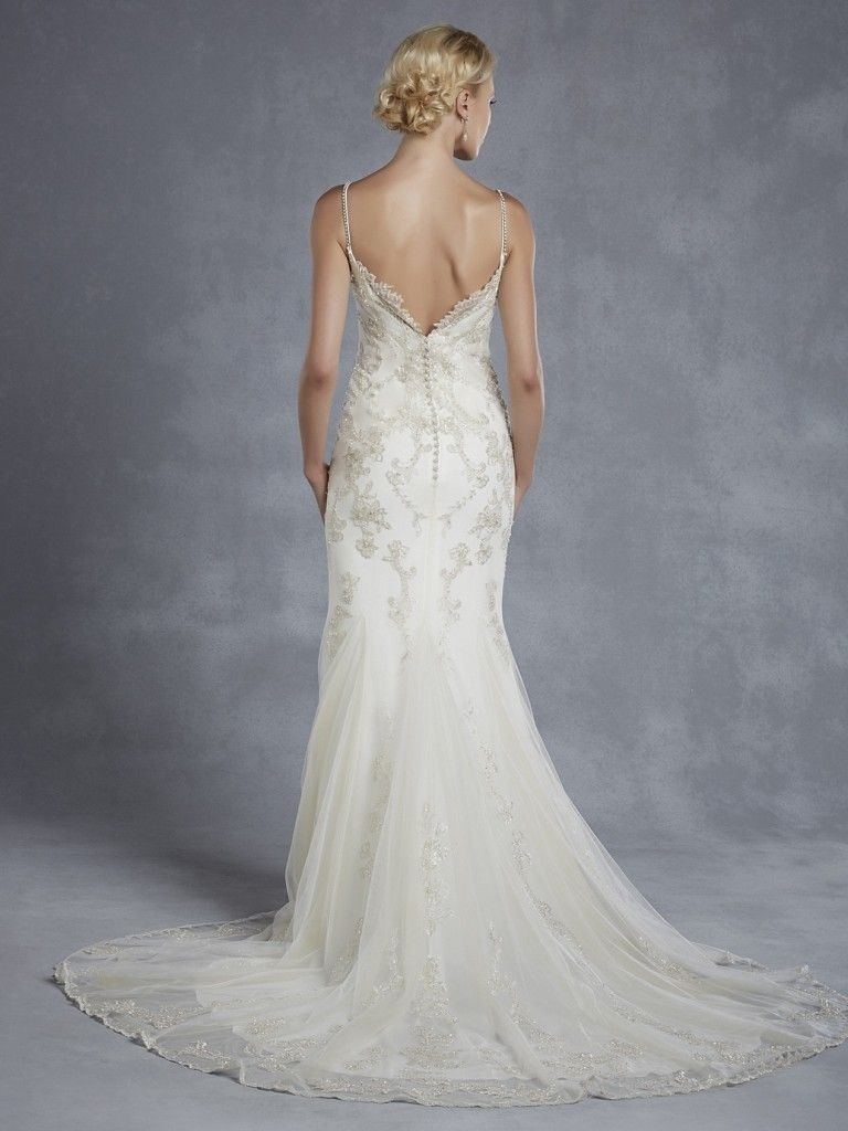 Love this wedding dress! Blue by Enzoani at Janine Adamyk Bridal ...