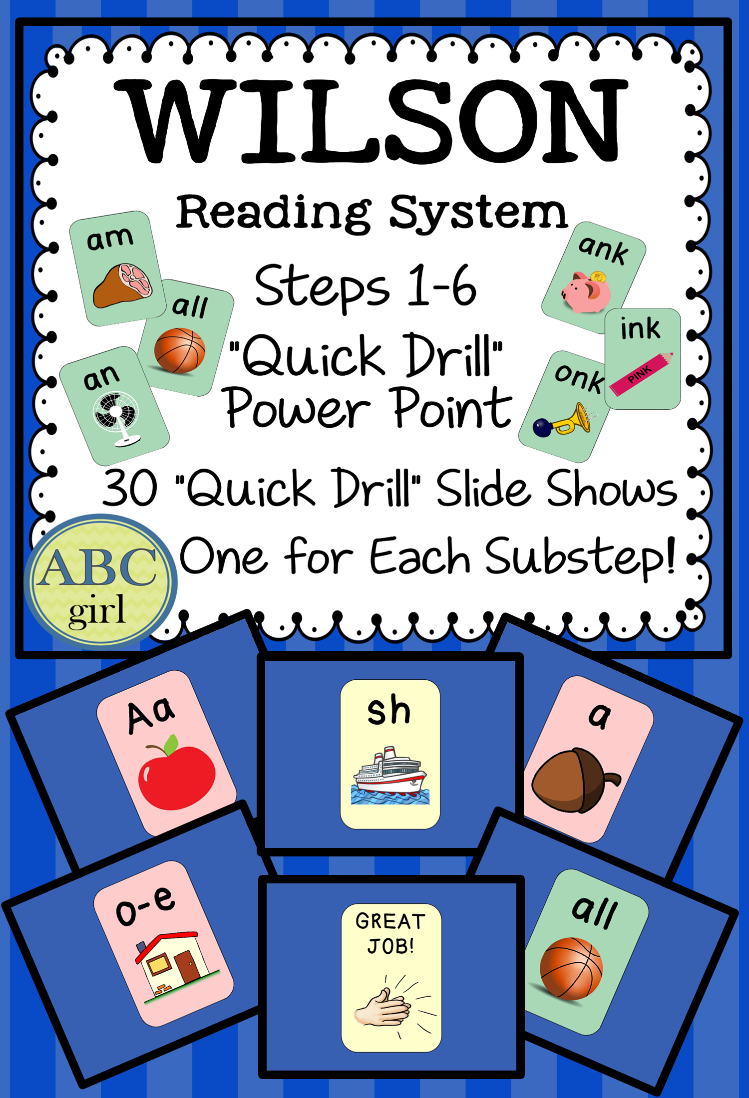 Reading System Steps 1 6 Quick Drill Powerpoint For