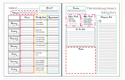 17 Best images about Planners/Organizers/Calenders I Need To Print ...